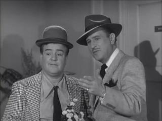 Lou Costello and Bud Abbott in 'The Abbott and Costello Show'