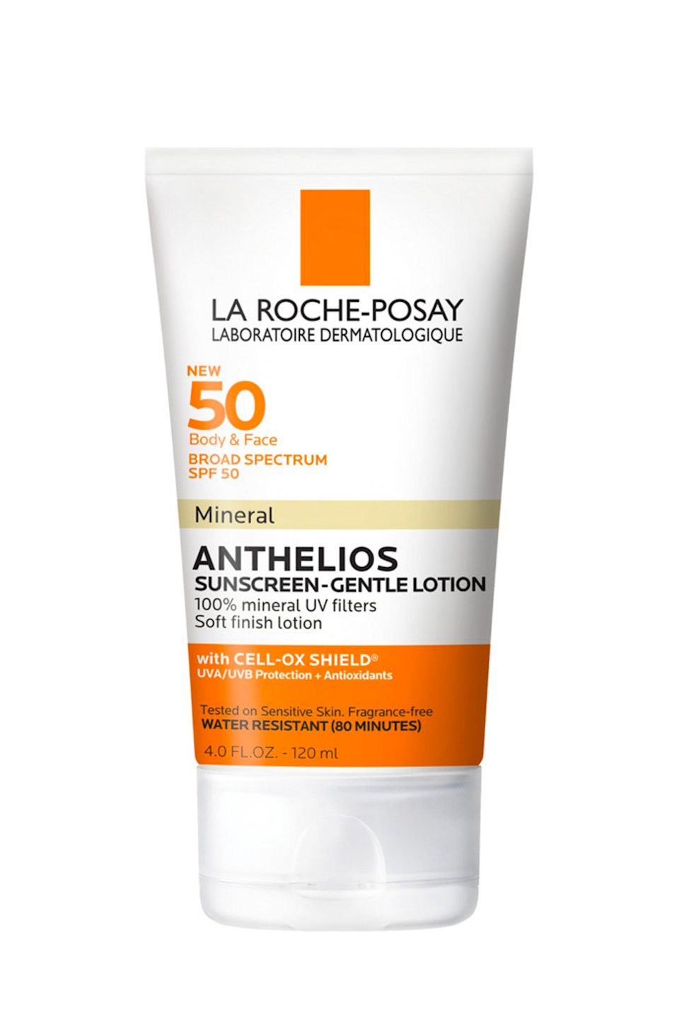"""<p><strong>La Roche-Posay</strong></p><p>laroche-posay.us</p><p><strong>$29.99</strong></p><p><a href=""""https://go.redirectingat.com?id=74968X1596630&url=https%3A%2F%2Fwww.laroche-posay.us%2Fanthelios-spf-50-mineral-sunscreen-gentle-lotion-antheliosbodymineral.html&sref=https%3A%2F%2Fwww.cosmopolitan.com%2Fstyle-beauty%2Fbeauty%2Fg35993297%2Fpregnancy-safe-sunscreen%2F"""" rel=""""nofollow noopener"""" target=""""_blank"""" data-ylk=""""slk:Shop Now"""" class=""""link rapid-noclick-resp"""">Shop Now</a></p><p>If you prefer a one-and-done situation, you can't go wrong with this gentle lotion that's easy to apply on your <a href=""""https://www.cosmopolitan.com/style-beauty/beauty/g9272802/best-sunscreens-for-face/"""" rel=""""nofollow noopener"""" target=""""_blank"""" data-ylk=""""slk:face"""" class=""""link rapid-noclick-resp"""">face</a> <em>and</em> your body. The mineral blockers (titanium dioxide and zinc oxide) and fragrance-free formula mean this bb is pregnancy safe, and it leaves your skin with a <strong>soft, non-greasy texture that's comfortable for all-day wear</strong>. Just don't forget to reapply it every two hours, k?</p>"""