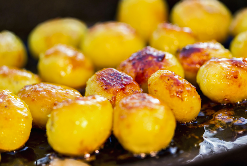 Roasties are the kings of Christmas (Picture: Rex)