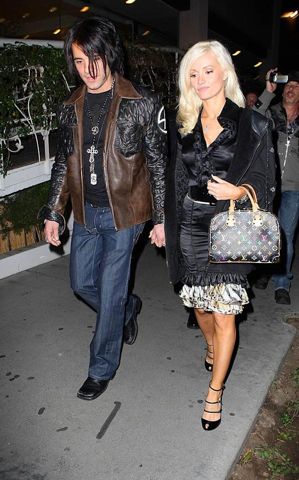 """Following her dramatic split with Hugh Hefner, Holly Madison hooked up with Vegas illusionist Criss Angel, but she disappeared from his arm in February of this year. JM-Kmax/<a href=""""http://www.x17online.com"""" target=""""new"""">X17 Online</a> - November 20, 2008"""