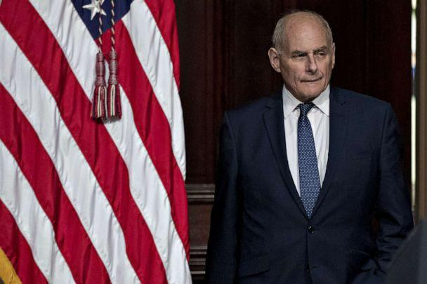 PHOTO: John Kelly, White House chief of staff, attends a meeting in Washington, D.C., on Oct. 11, 2018. (Bloomberg via Getty Images, FILE)
