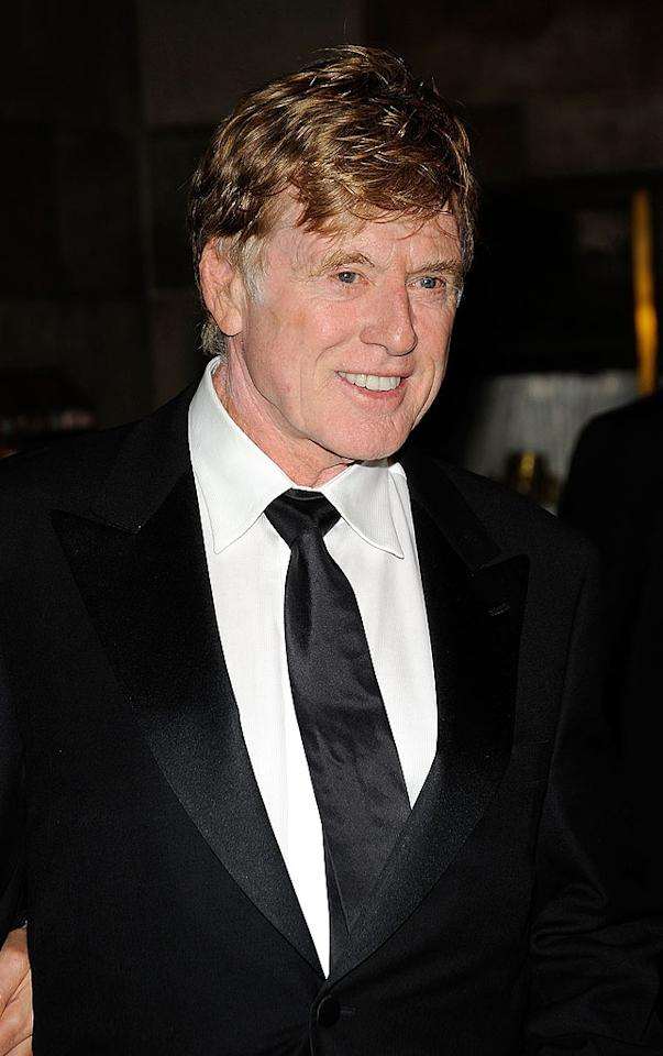 "August 18 also marks movie legend Robert Redford's 74th birthday. Gary Gershoff/<a href=""http://www.wireimage.com"" target=""new"">WireImage.com</a> - October 5, 2009"