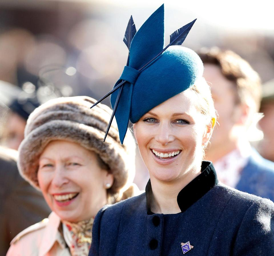 """<p><strong>Did they quit? </strong>Technically, <a href=""""https://www.cosmopolitan.com/uk/reports/a35935486/zara-tindall-home-birth-story/"""" rel=""""nofollow noopener"""" target=""""_blank"""" data-ylk=""""slk:Zara Tindall"""" class=""""link rapid-noclick-resp"""">Zara Tindall</a> (and her brother Peter Phillips) didn't quite quit the Royal Family, but they don't have the titles that could have been afforded to them. That's because their parents, Princess Anne (the Queen's daughter) and her husband Mark Phillips, declined Royal titles when they were born so that they could have <a href=""""https://www.cosmopolitan.com/uk/interiors/a35382850/zara-mike-tindall-home-unlike-royal-homes/"""" rel=""""nofollow noopener"""" target=""""_blank"""" data-ylk=""""slk:somewhat of a 'normal' life"""" class=""""link rapid-noclick-resp"""">somewhat of a 'normal' life</a>.</p><p>Speaking about her parents' decision, Zara told <a href=""""https://people.com/royals/zara-tindall-says-she-s-lucky-she-wasnt-given-a-royal-title/"""" rel=""""nofollow noopener"""" target=""""_blank"""" data-ylk=""""slk:People"""" class=""""link rapid-noclick-resp"""">People</a> she felt 'lucky' not to have a Royal title as it meant she had more freedom than her cousins, Prince William and Prince Harry.</p>"""
