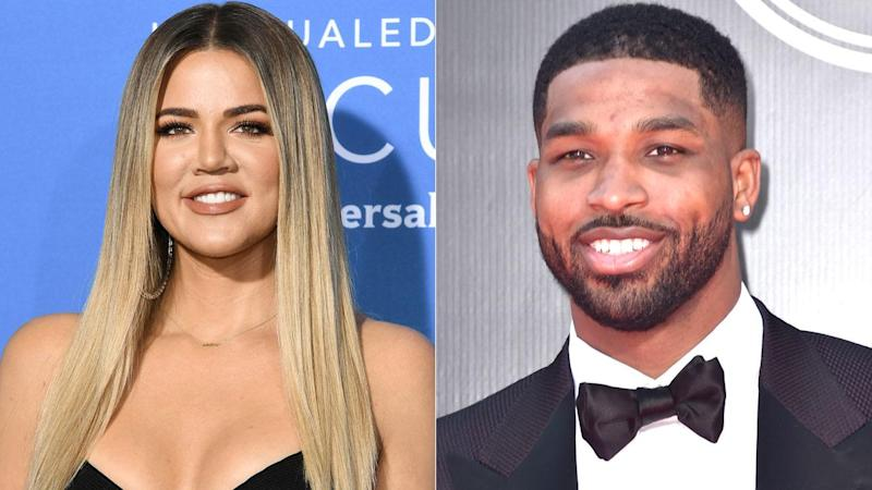 Khloe Kardashian Sends Birthday Wishes to Tristan Thompson With Intimate Kiss Pic