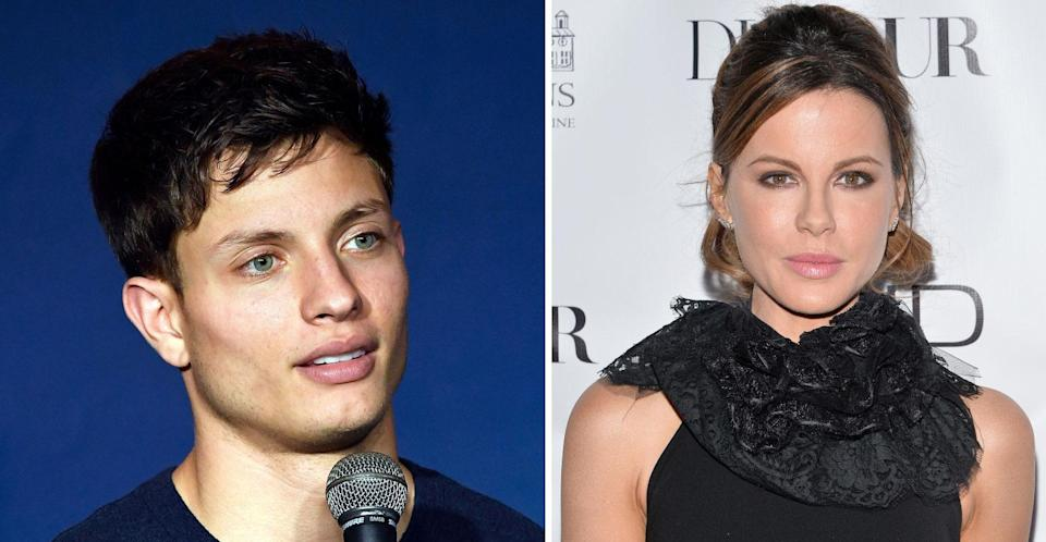 Matt Rife was in a relationship with Kate Beckinsale for a year. (Getty/PA Images)