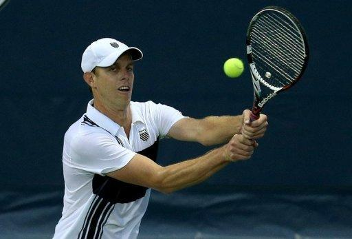 Two-time LA Open champ Sam Querrey will next face Lithuanian qualifier Ricardas Berankis