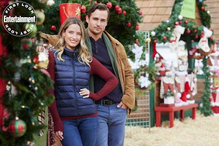 """<p><strong>Premieres:</strong> Nov. 5 at 8 p.m. at Hallmark Channel</p> <p><strong>Stars:</strong> Merritt Patterson, Jon Ecker</p> <p><strong>Contains:</strong> Wish-granting cookies, reunion of old friends</p> <p><strong>Official description:</strong> """"Two old friends from high school work together over Christmas to sell his uncle's Mexican bakery famous for its magical gingerbread cookies that grant wishes.""""</p>"""