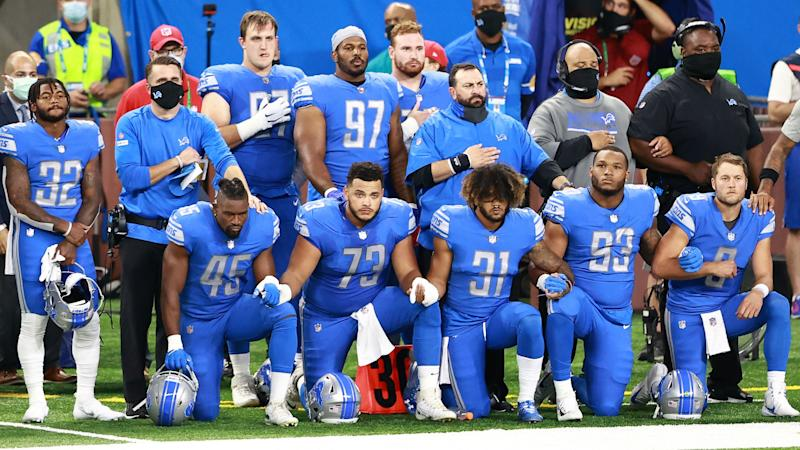Here's how NFL players protested during national anthems on Sunday, Monday of Week 1