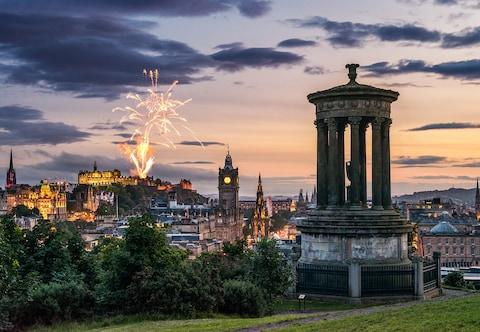 Spend your first moments of 2020 in Edinburgh - Credit: GETTY