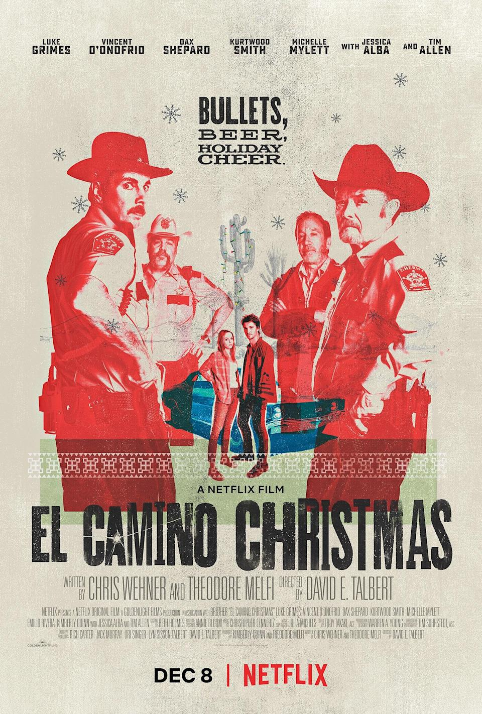 Not every Christmas movie on Netflix takes place in a quaint little town dripping with snow and holiday cheer. <em>El Camino Christmas</em> is a grittier story of a man who goes in search of the father he never knew, only to end up in the middle of a liquor store holdup with his long-lost dad.