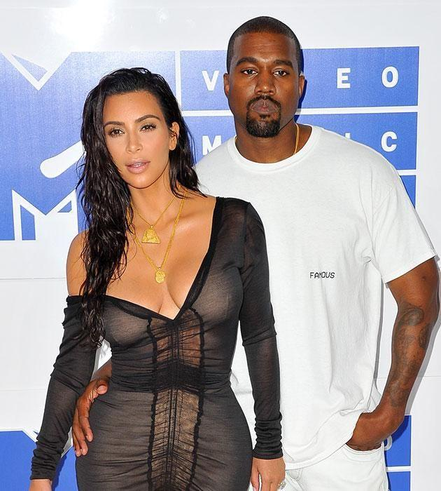 Kim and Kanye are in