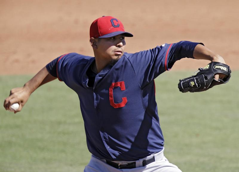 Indians choose Carrasco for starting rotation