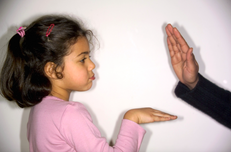 Should smacking children be outlawed? [Photo: Rex]