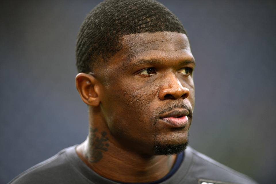 Andre Johnson doesn't seem to think the Texans are moving in the right direction. (Photo by Mark Brown/Getty Images)