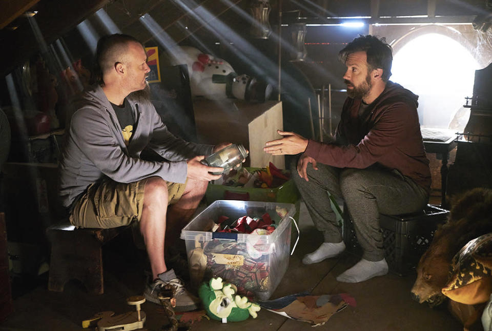 """<p><b>This Season's Theme:</b> """"Every part of this group is teaching Tandy to grow,"""" Emmy-nominated star Will Forte says. """"[Losing his brother] is just another step which connects him to the group and makes him want to try even harder. He definitely will still always be a somewhat challenged individual. We don't want to rob the character of all the fun. Tandy will never be like, a normal person, but as long as his heart's in the right place, that's what we've been shooting for."""" <br><br><b>Where We Left Off: </b> Forte's Phil Tandy bid adieu to his astronaut brother Mike (Jason Sudeikis), who appeared to be sick and dying from the virus that wiped out most of the population. Meanwhile, the Malibu gang faced imminent danger, as seaman Pat (Mark Boone Junior), accompanied by two cohorts, landed on their beach and headed towards the gang's house with weapons in their hands. <br><br><b>Coming Up: </b> """"It picks up right where Season 2 left off. It's a really fun first episode back. There are some good surprises."""" Not cryptic enough for you? Forte, who says even the network encourages him to offer up more episode spoilers sometimes, is a bit more open about the fate of Mike, who some viewers think may still be alive. """"If we ever found out that he somehow didn't die, it would have to be for a very good reason, because we would hate to rob [the story] of the reality of that moment,"""" says the actor. """"We certainly would never have started out the third season with, 'Oh my god, he's alive!'"""" <br><br><b>Last Babies on Earth: </b> Will we see Erica and Carol's babies – """"Yorba Linda"""" or """"Bezequil,"""" as Carol wants to name her offspring – be born in Season 3, or, at least, will Tandy and his crew start to plan for the births without any medical assistance? """"We'll be dealing with the realities of bringing kids into this new world,"""" Forte says. """"We're still figuring out the timeline. It's very possible that if we didn't do a time jump, we would have to go several seasons to actually"""