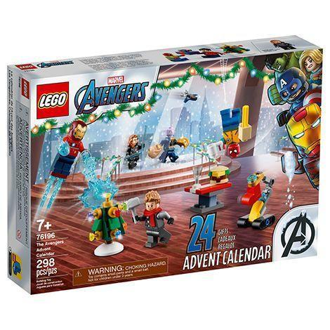"""<p><strong>LEGO</strong></p><p>lego.com</p><p><strong>$39.99</strong></p><p><a href=""""https://go.redirectingat.com?id=74968X1596630&url=https%3A%2F%2Fwww.lego.com%2Fen-us%2Fproduct%2Flego-marvel-the-avengers-advent-calendar-76196&sref=https%3A%2F%2Fwww.goodhousekeeping.com%2Fholidays%2Fgift-ideas%2Fg29387546%2Fmens-advent-calendars%2F"""" rel=""""nofollow noopener"""" target=""""_blank"""" data-ylk=""""slk:Shop Now"""" class=""""link rapid-noclick-resp"""">Shop Now</a></p><p>Or, if he's more of a comic book guy, this LEGO advent calendar features all of his favorite Marvel characters. In lieu of an Avengers team-up happening again any time soon, he can create his own scene.</p><p><strong>RELATED:</strong> <a href=""""https://www.goodhousekeeping.com/holidays/gift-ideas/g29797069/cool-marvel-gifts/"""" rel=""""nofollow noopener"""" target=""""_blank"""" data-ylk=""""slk:Cool Gifts for Marvel Fans"""" class=""""link rapid-noclick-resp"""">Cool Gifts for Marvel Fans</a></p>"""