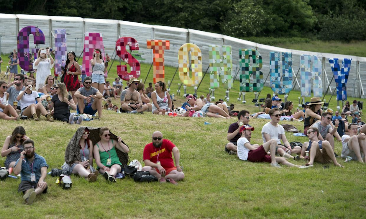 The main Glastonbury event was cancelled again this year. (OLI SCARFF/AFP via Getty Images)
