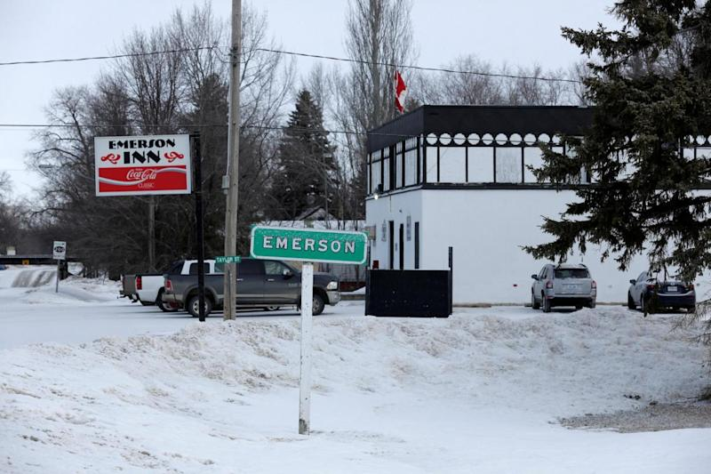 People in Emerson say they have tried to help those entering Canada (AP)
