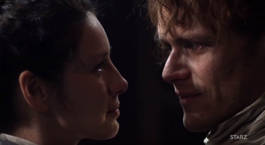 <p>It took six episodes and 20 years for <em>Outlander</em>'s separated-by-centuries lovers, Jamie and Claire, to rekindle their red-hot marriage. Once the big reunion finally happened, though, it knocked Jamie — and us — out. Then, after the highlander turned printer picked himself up off the floor, he and Claire promptly set about making up for lost time, with an extended evening of tears, laughter, talking … and that other thing. You've heard of trial separations? This particular separation was a trial for fans, one we hopefully won't be asked to repeat any time soon. —<em>EA</em><br />(Photo: Starz) </p>