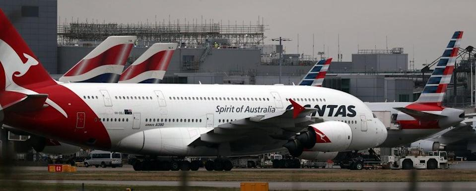 """Qantas CEO Alan Joyce says the Covid vaccine rollout means Australians """"should have a lot more freedom in a few months' time"""" (Steve Parsons/PA) (PA Archive)"""