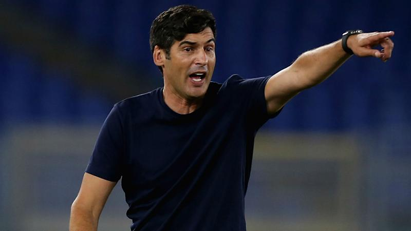 Paulo Fonseca's future 'not in doubt', says Roma president