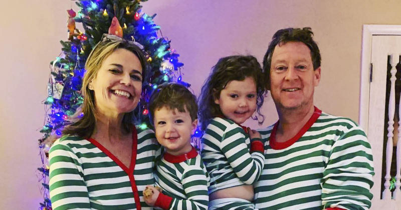 09e93b77cd Today Anchors and Their Families Wear Matching Christmas Pajamas — See the  Sweet Pictures