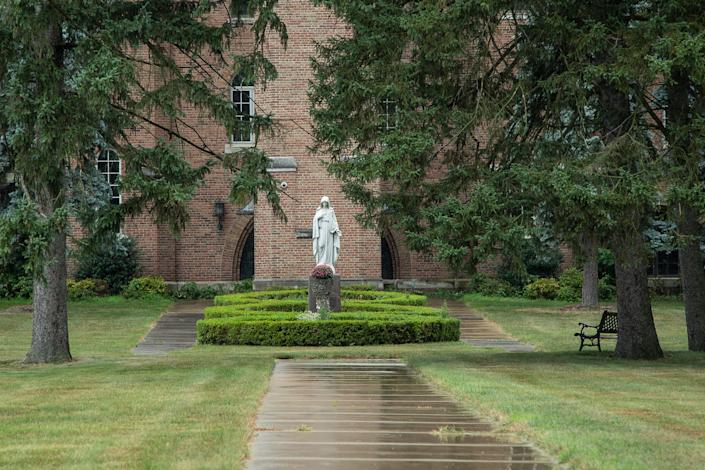 Chapel of the Felician Sisters in Livonia on August 1, 2020.