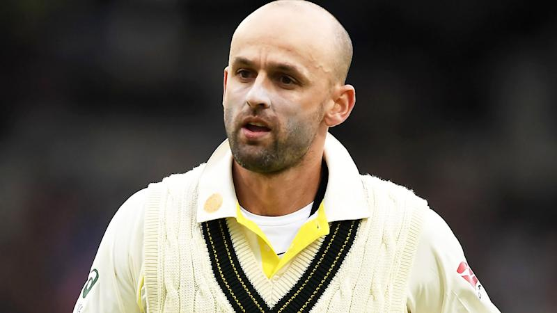 Nathan Lyon, pictured here in action during the fourth Ashes Test.
