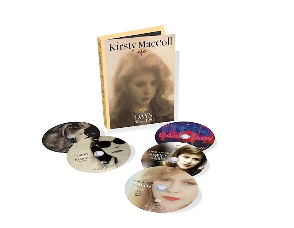 <p>The late singer-songwriter's Virgin Records era — a time when she worked with the likes of Johnny Marr, David Gilmour, and of course her then-husband, Steve Lillywhite — gets the deluxe treatment with these five CDs, which include 33 non-album B-sides and 12-inch mixes. Additionally, her album Kite will be issued on clear vinyl and Electric Landlady on pink vinyl. </p>
