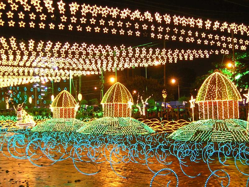 Medellin, Colombia's Christmas lights festival