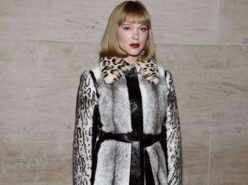 Léa Seydoux has spoken out against Harvey Weinstein, saying she had to 'defend' herself against him. Source: Getty