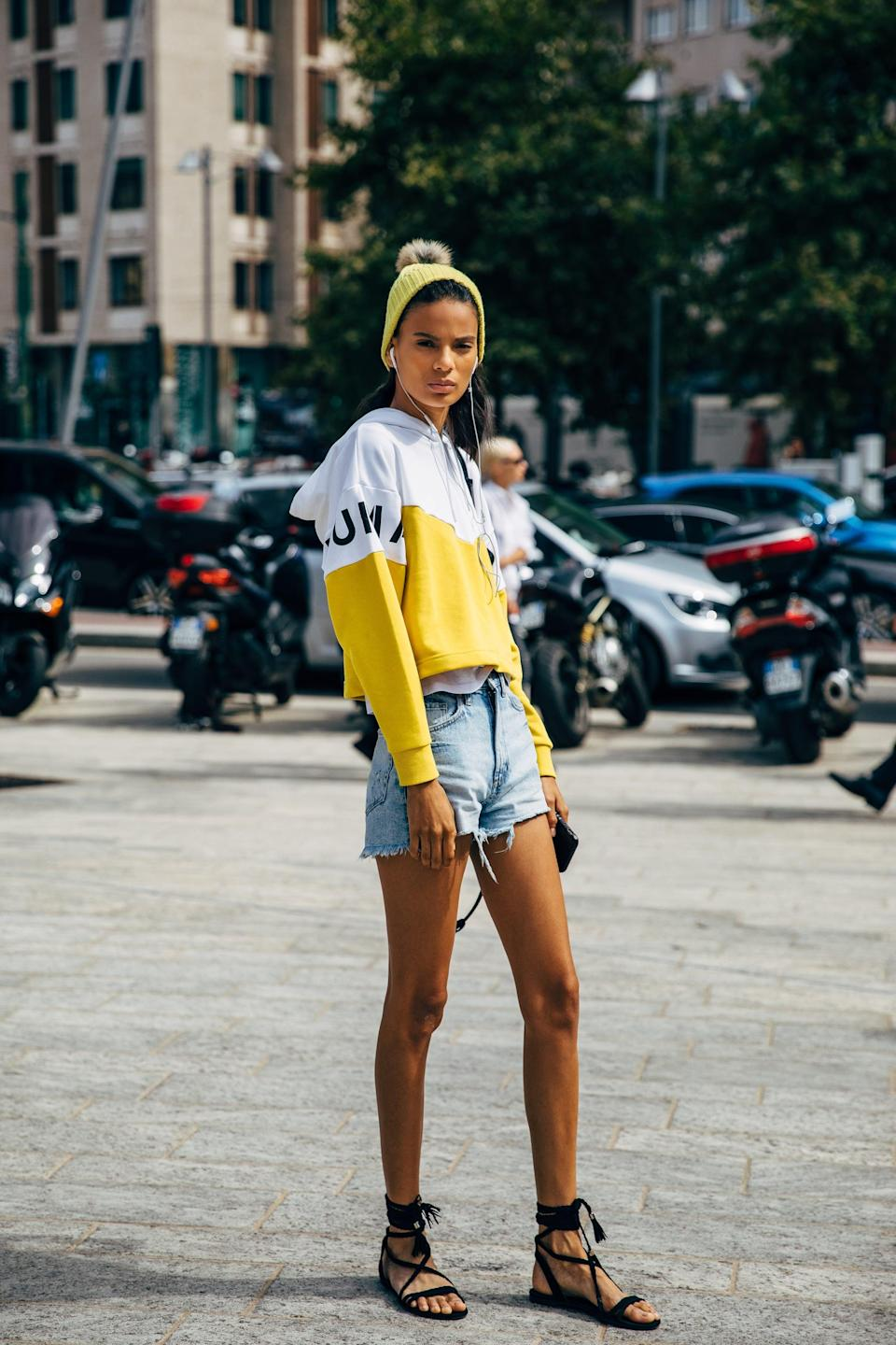 <p>Gladiator sandals are the perfect antidote to distressed cutoffs and a hoodie.</p>