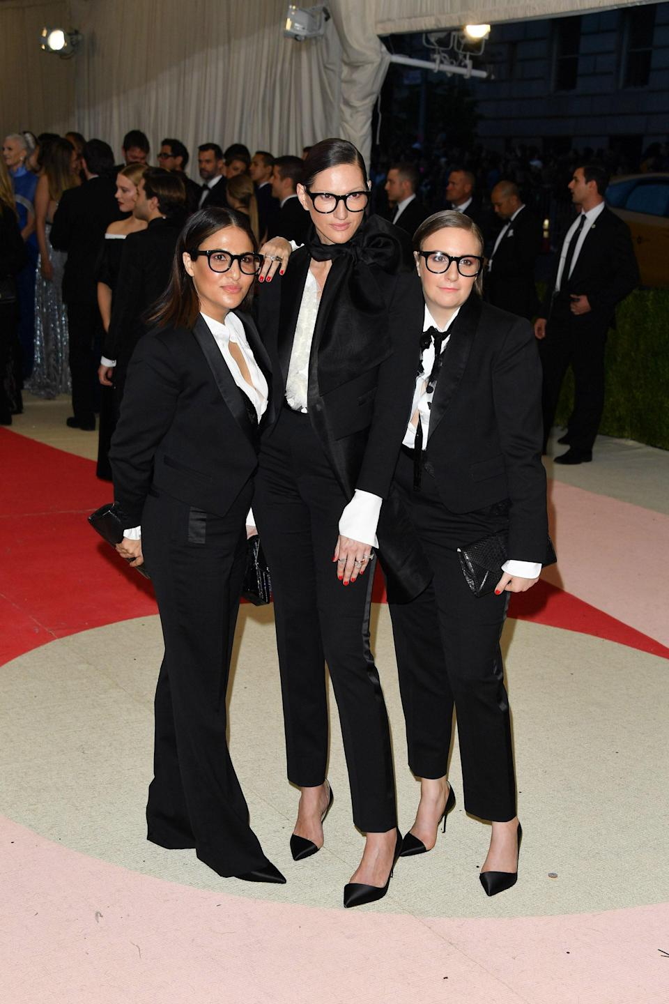 """<h1 class=""""title"""">Lena Dunham, Jenni Konner, and Jenna Lyons in Creatures of the Wind, 2016</h1><cite class=""""credit"""">Photo: Getty Images</cite>"""