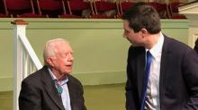 Jimmy Carter becomes unlikely source of inspiration for underdogs in Democratic 2020 primary