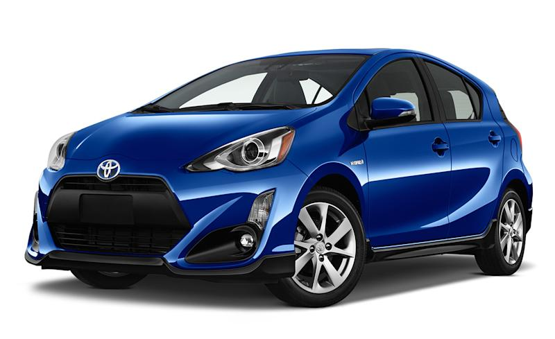 Toyota S Smallest And Least Expensive Hybrid The Prius C Sees Some Changes For 2017 Model Year Outside There Subtle Black Bodywork On Pers