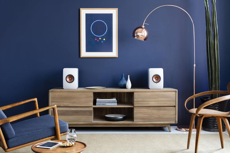 KEF's LS50 Wireless speaker clips the wires and adds a high-quality built-in amplifier