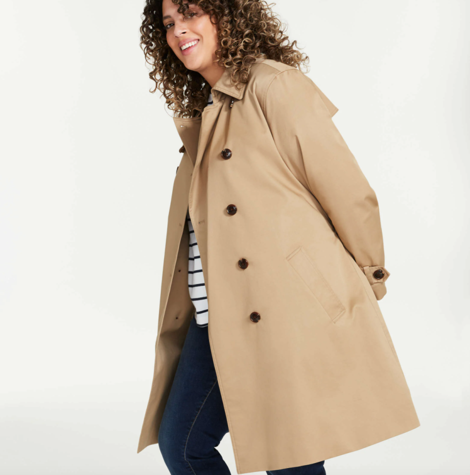 Joe Fresh Women+ Trench Coat (Photo via Joe Fresh)
