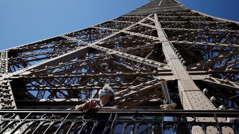 Paris's Eiffel Tower top floor reopens to visitors on 15 July