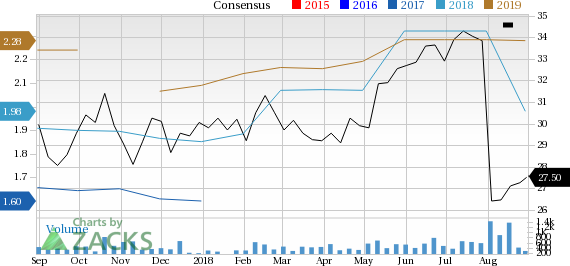 Computer Programs and Systems (CPSI) has witnessed a significant price decline in the past four weeks, and is seeing negative earnings estimate revisions as well.