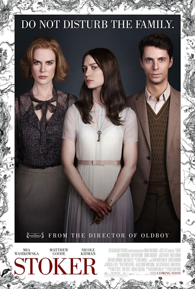 "Nicole Kidman, Mia Wasikowska and Matthew Goode star in Fox Searchlight Pictures' ""Stoker"" - 2013"