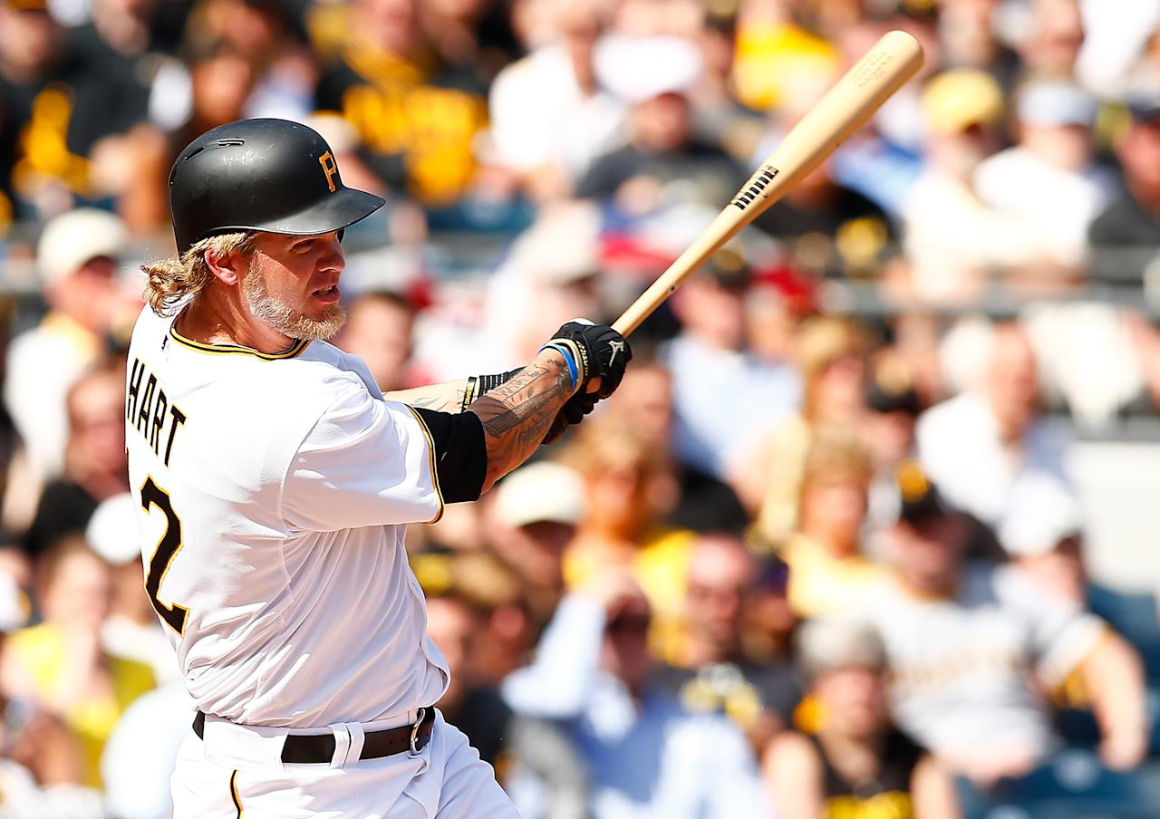 <p><span>Pittsburgh's Corey Hart received one of spring training's weirdest injuries in 2015. Hart sliced his foot on a hot tub at the Pirate's complex. He required three stitches and a few days to recover.</span> </p>