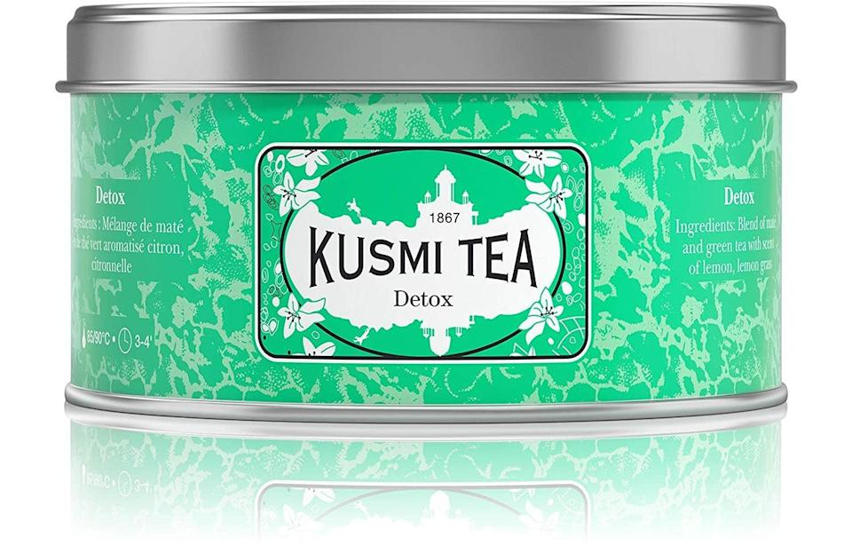 "<p>This <span>Kusmi Tea Detox</span> ($20) is a favorite of <a class=""link rapid-noclick-resp"" href=""https://www.popsugar.com/Meghan-Markle"" rel=""nofollow noopener"" target=""_blank"" data-ylk=""slk:Meghan Markle"">Meghan Markle</a>, so you know we'll be sipping on this all season long.</p>"