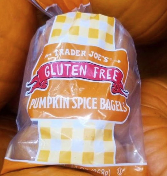 <p>We were already well aware of TJ's pumpkin bagels, but this year they're selling gluten-free ones, too. SCORE. </p>