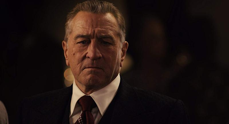 Robert De Niro in The Irishman.