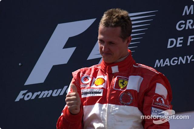 "1:Michael Schumacher: 155 podios <span class=""copyright"">Ferrari Media Center</span>"