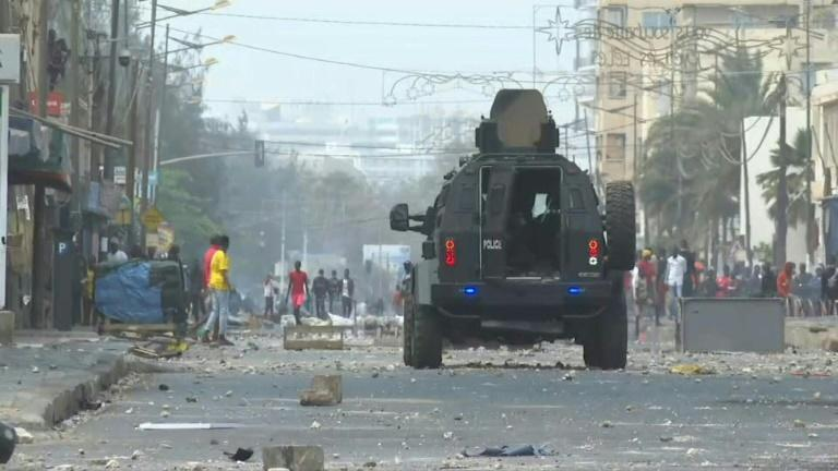 Clashes have gripped Senegal's capital for days