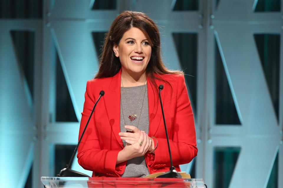 Monica Lewinsky gives an address on 5 December 2018 in Los Angeles, California: Jesse Grant/Getty Images for The Hollywood Reporter