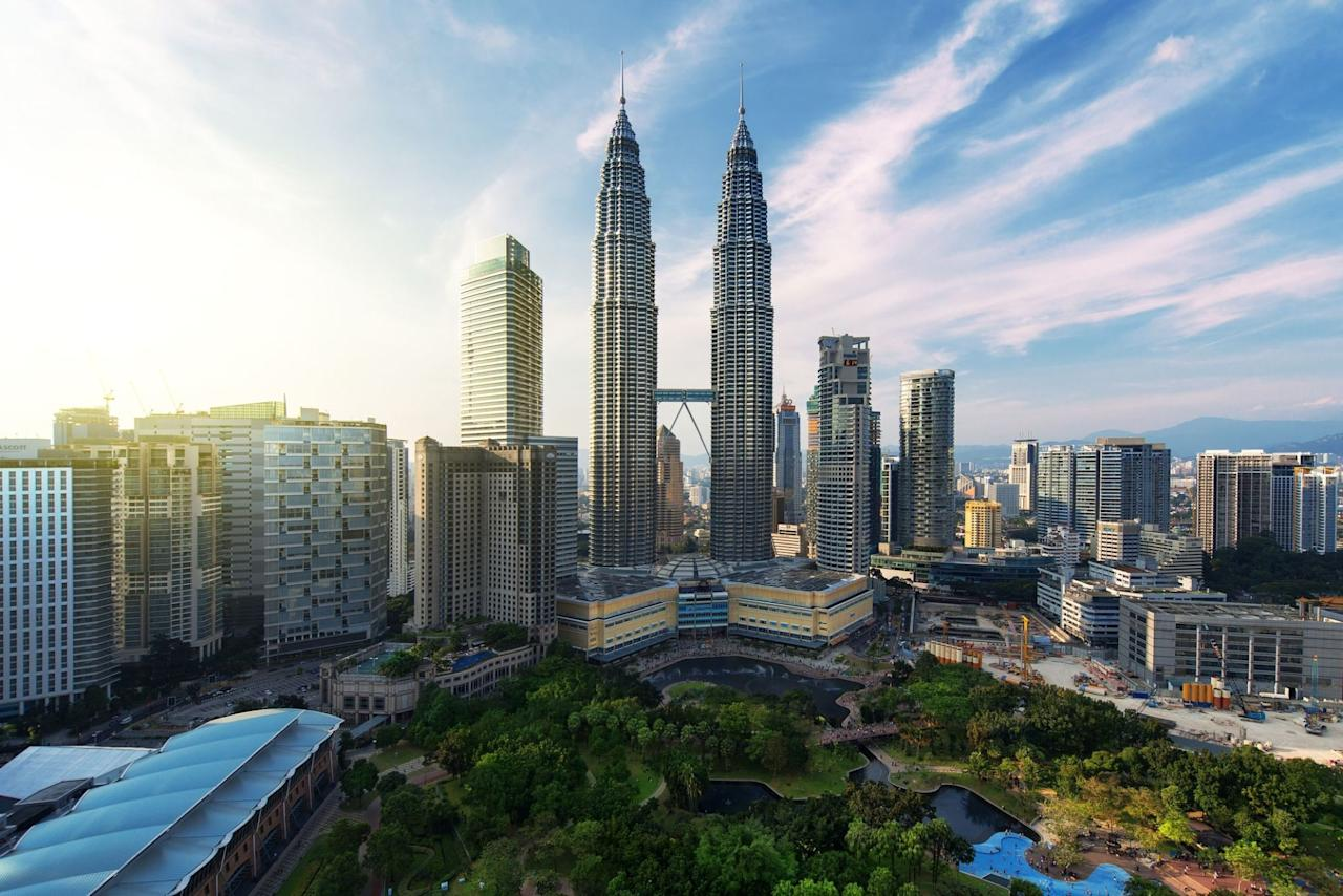 <p>The capital of Malaysia is also one of the cheapest destinations when it comes to daily costs. According to the report, the city was also the 9th cheapest for accommodation costs, with one night's stay for two people costing £44.00. </p>