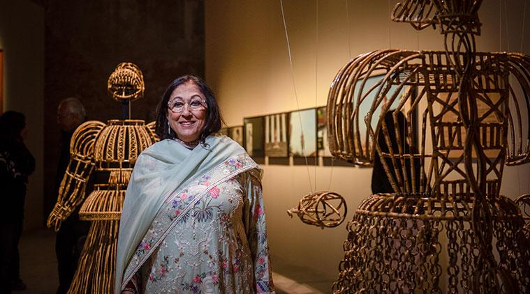 Venice Biennale, Kiran Nadar Museum of Arts, KNMA, Kiran Nadar interview, Sunday Eye, EYE 2019, indianexpress, art collections, 10 years of KNMA,