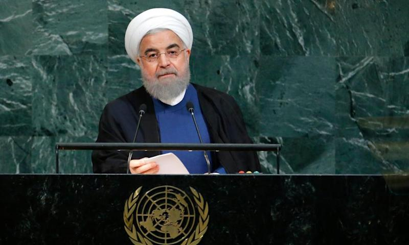 Rouhani said Trump's speech was beneath the dignity of the UN.